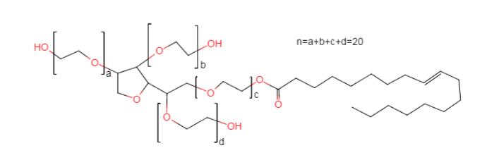 Polysorbate 80 Chemical Formula